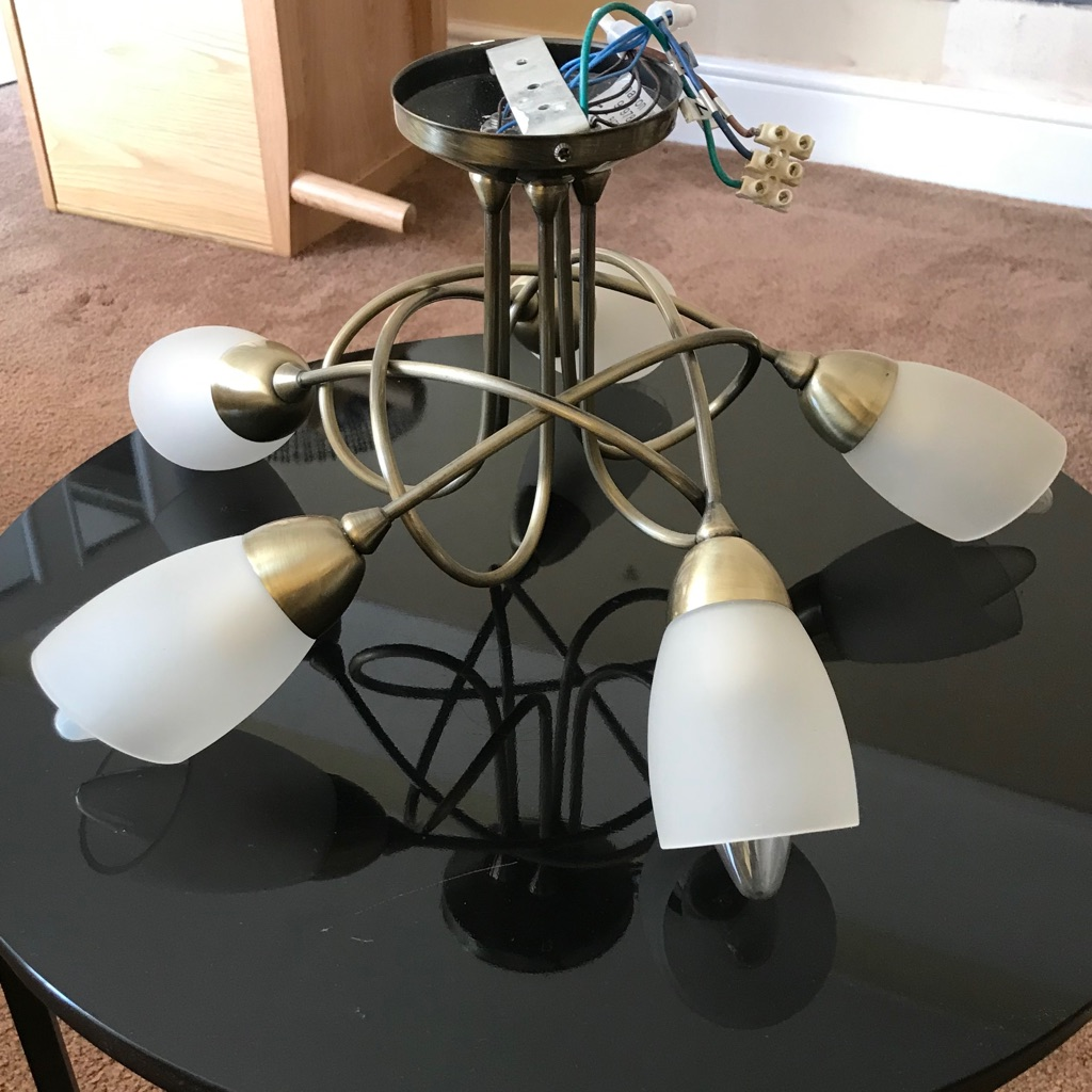 Five Arm Ceiling Lamp