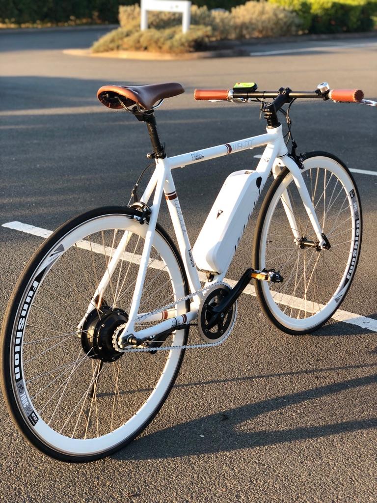 Electric Racing Bike Rides upto 40 miles