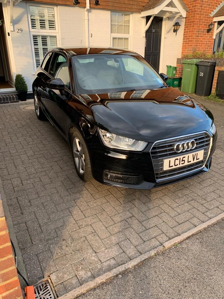 Audi A1 sport black 2015