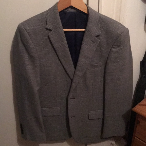 Marks and Spencer Grey Jacket 38S Regular Fit
