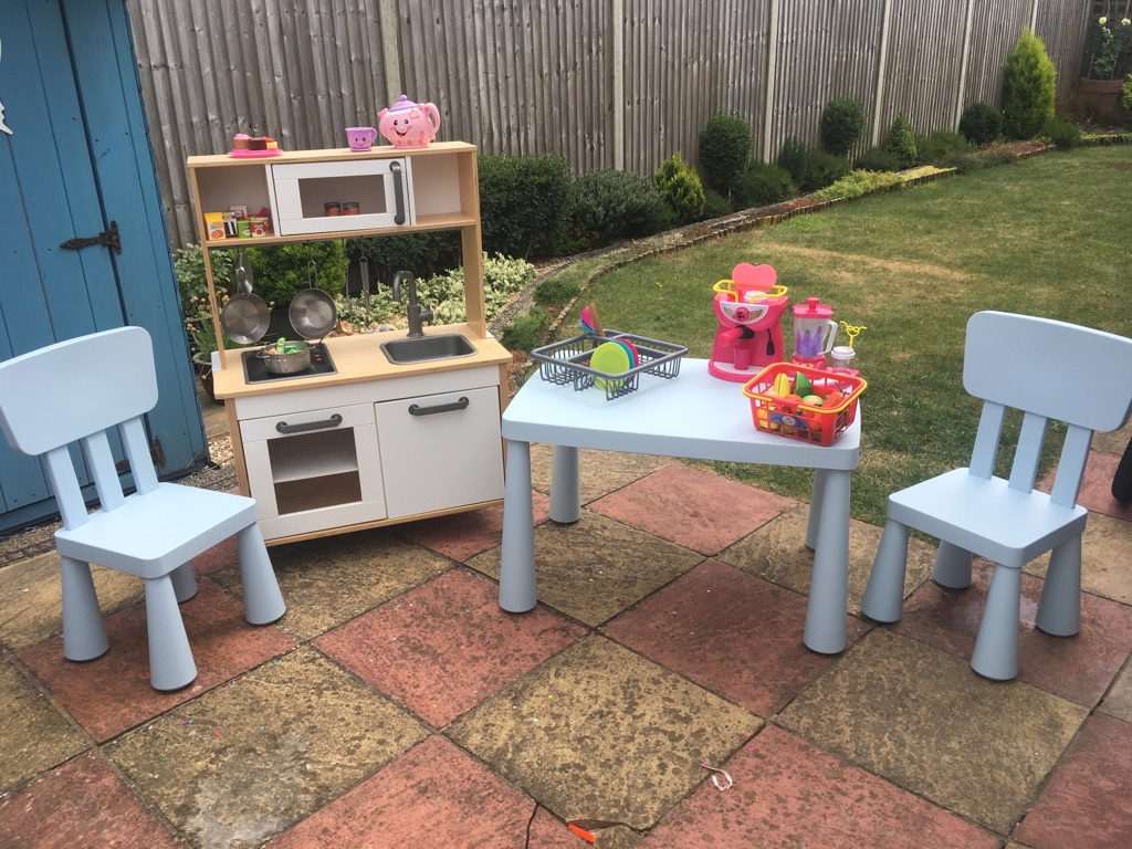 IKEA kitchen and children's table set
