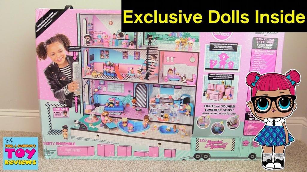 Lol giant doll house