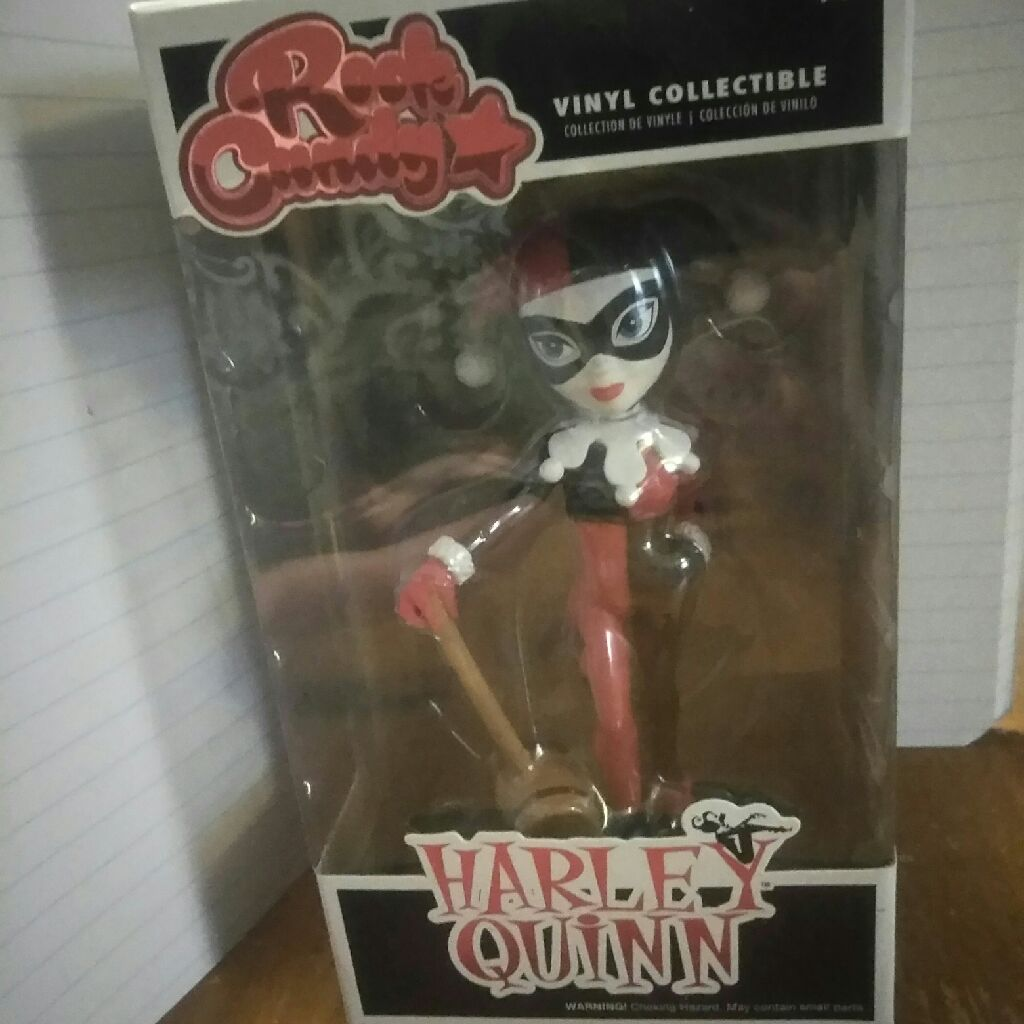 Rock candy harley Quinn