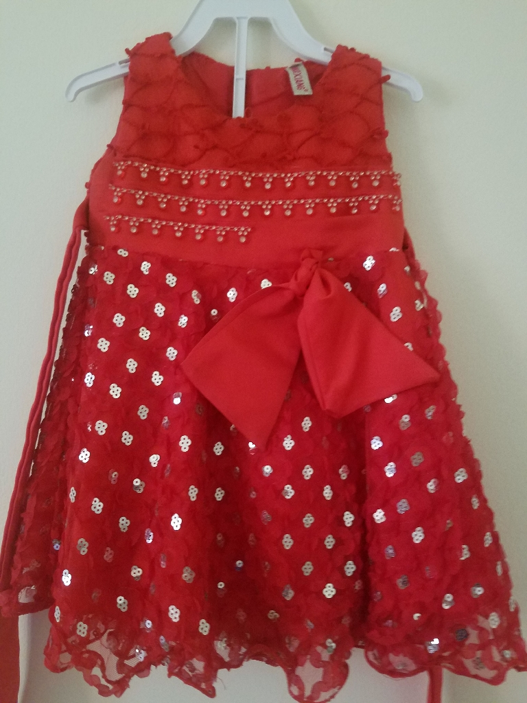 Kids frock and bag
