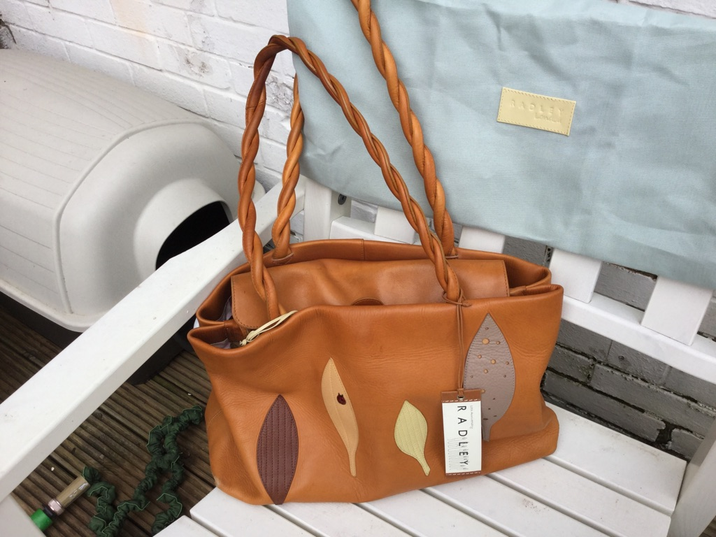 Radley  10th Anniversay  Ladybird Tan Workbag