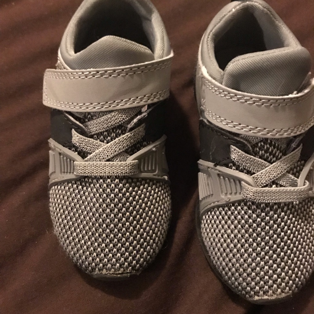 Next boys light up trainers size 5