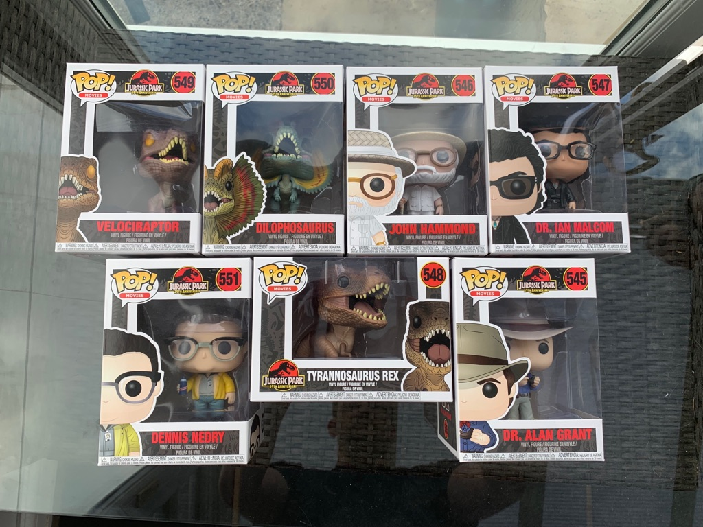 Jurassic Park Funko Pop Collection PLUS MYSTERY POP!