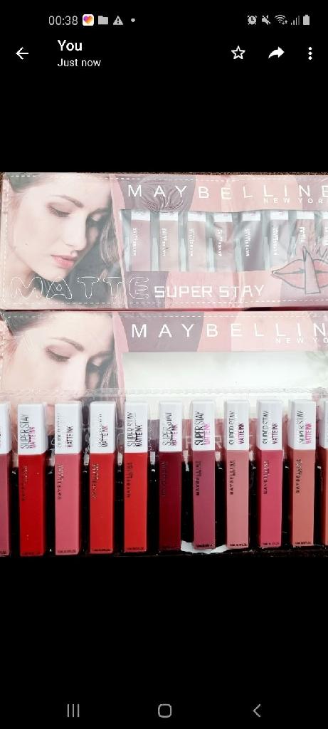 Lipgloss multi colour