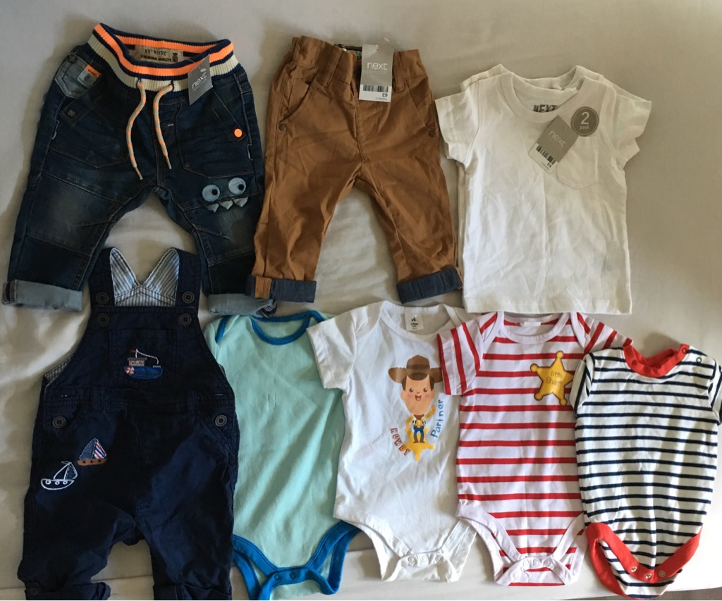 Boys 3-6 months bundle.