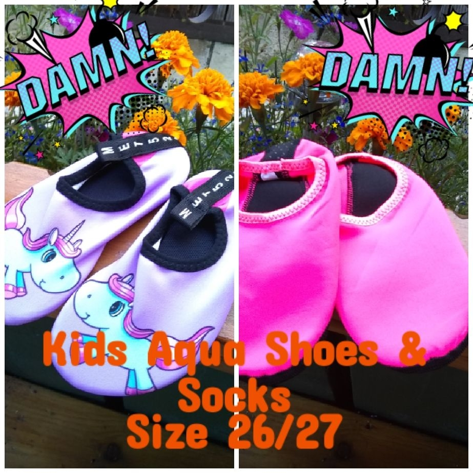 Kids Aqua Socks & Shoes