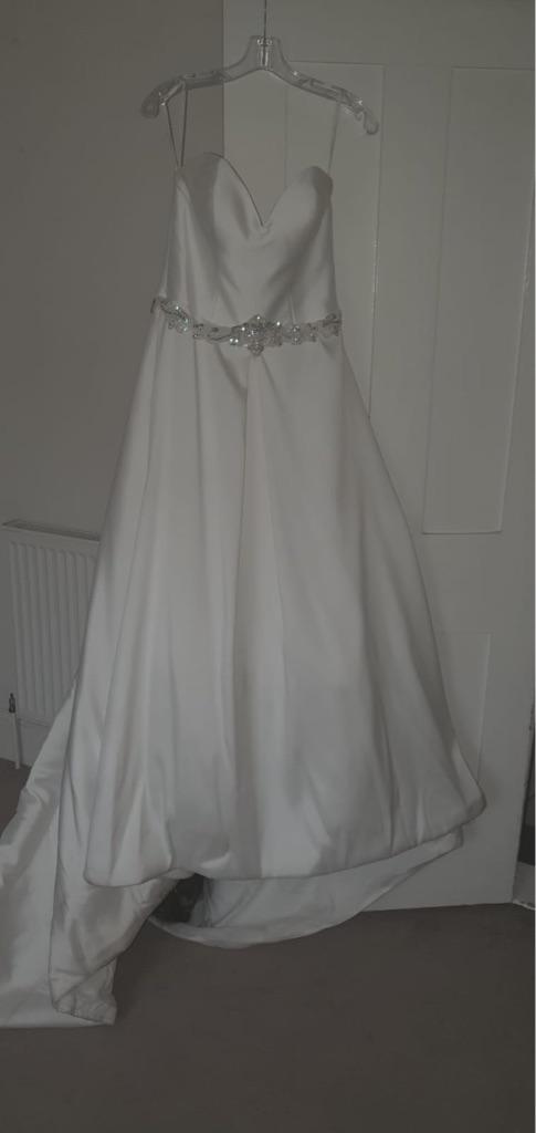 Stella York used wedding dress size 10