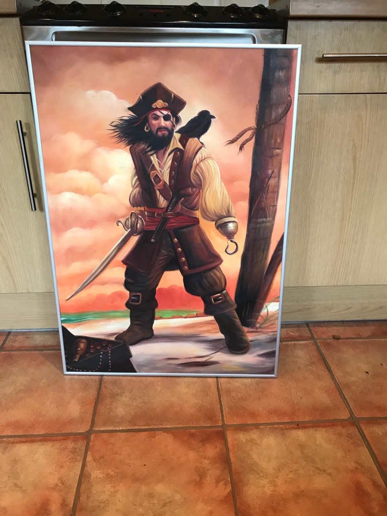 2 pirate posters