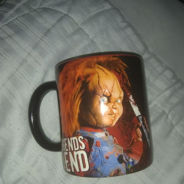 Chucky glass mug