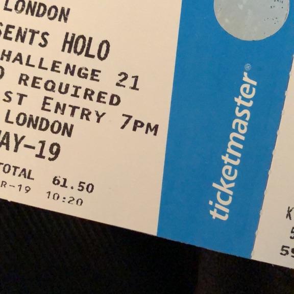 2 x Eric prydz paper tickets Finsbury Park 25/5/19