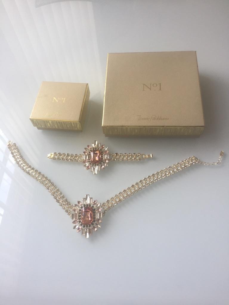 Jenny Packham necklace & bracelet