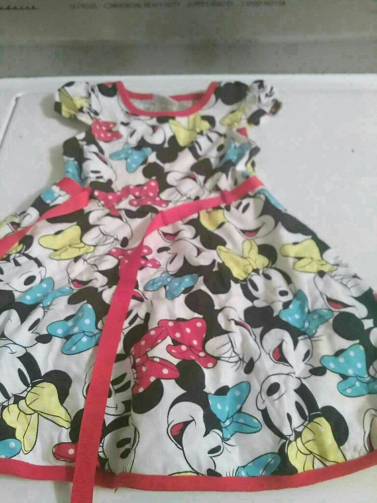 Mickey Mouse dress for toddler girl size 2T