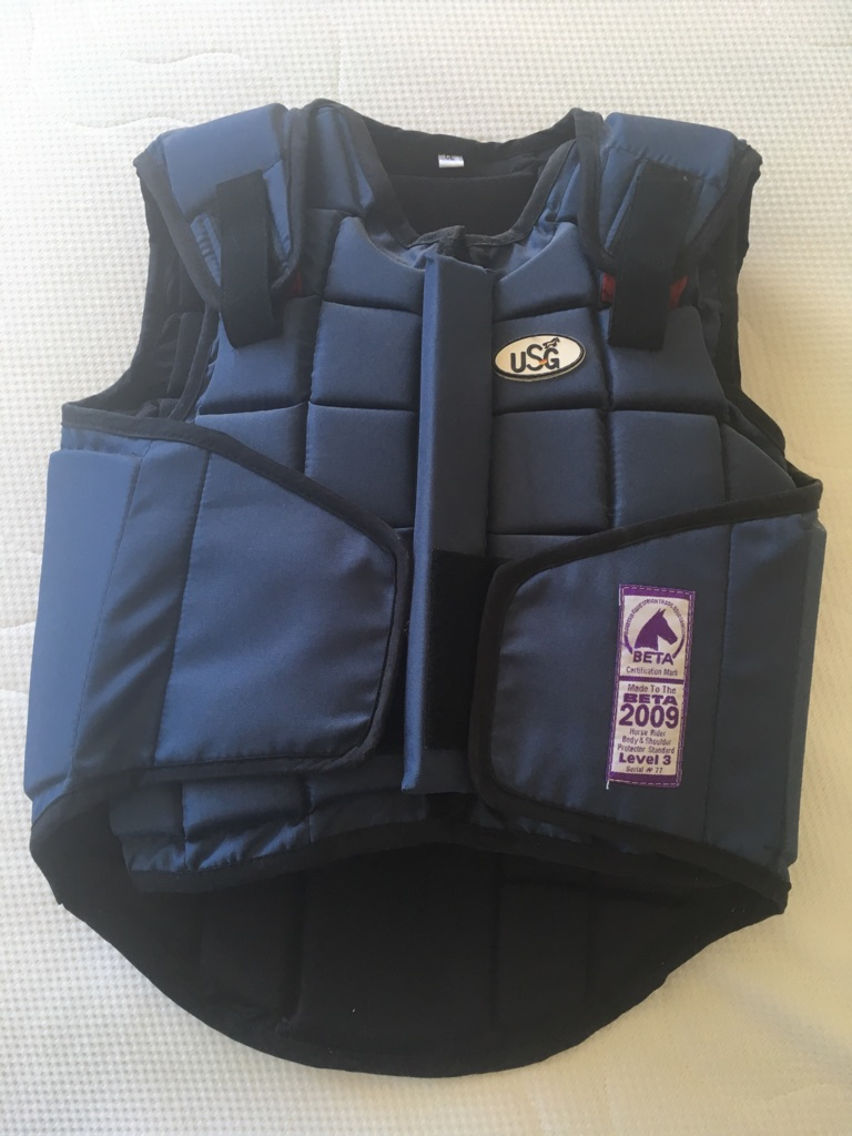 Child's USG horse riding body protector