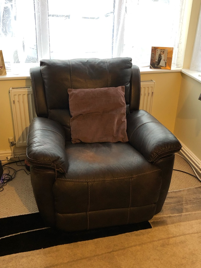 3 seater sofa with matching armchair for sale