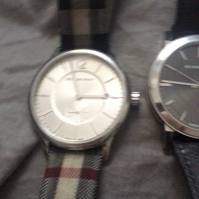 Burberry designer watches