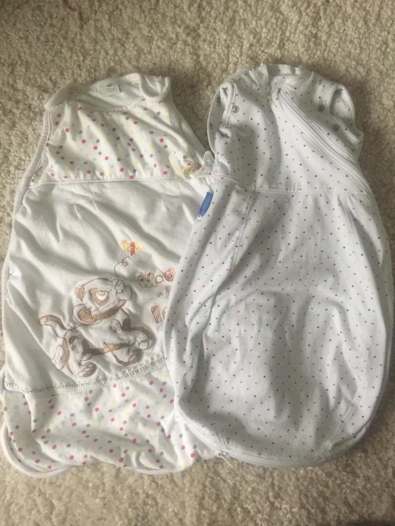 X2 baby sleep bags
