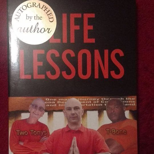 Shaun Attwood - Life Lessons AUTOGRAPHED