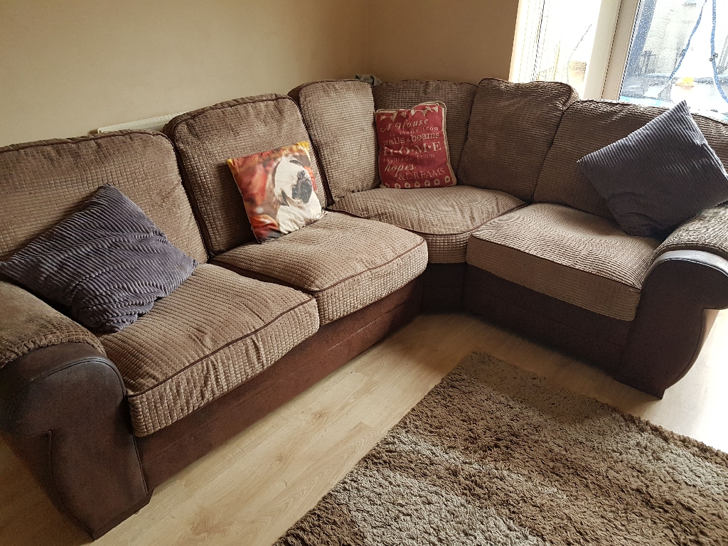 large corner sofa and cuddle swivel chair