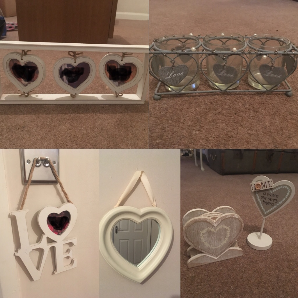 Collection of Love Home Accessories