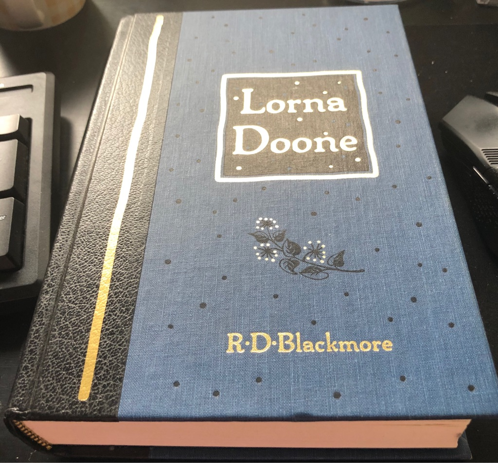 READERS DIGEST LORNA DOONE BOOK
