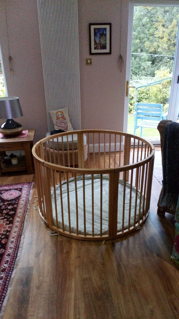 Playpen and bumble seats