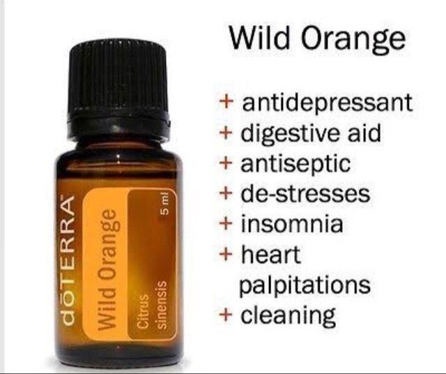 doTerra wild orange