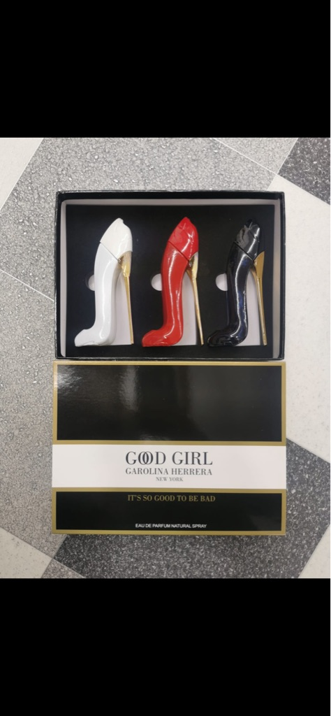 Women's Good Girl Carolina Herrera Xmas gift fragrances 3 bottles per box