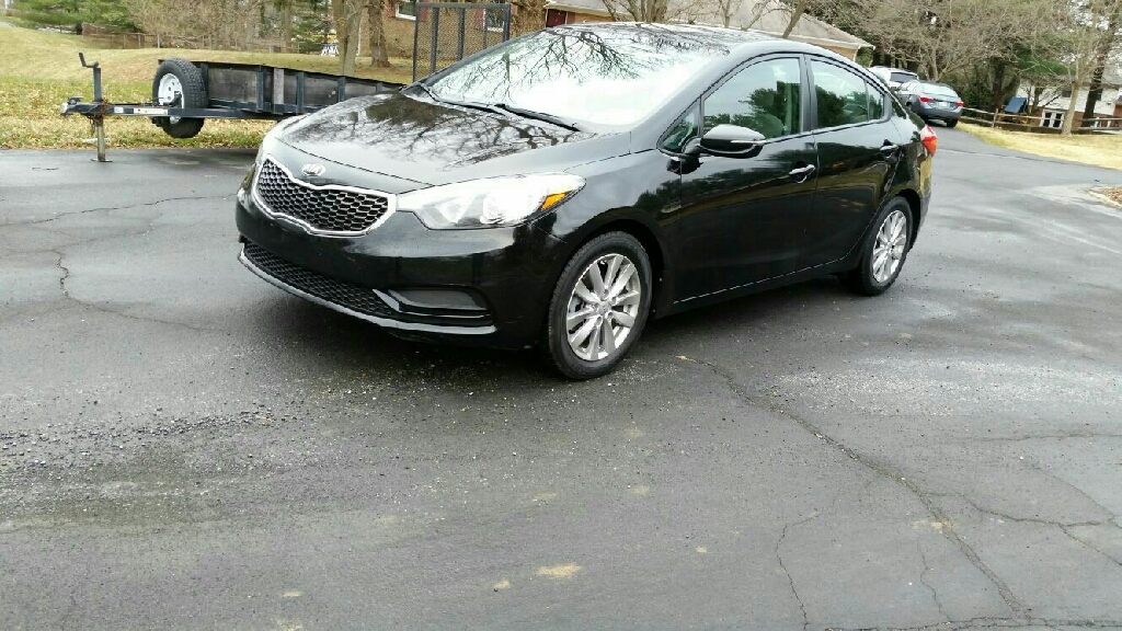 2015 Kia forte with Maryland inspection certificate