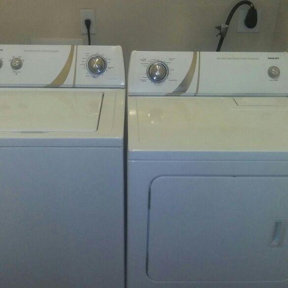 Admiral Brand washer dryer set