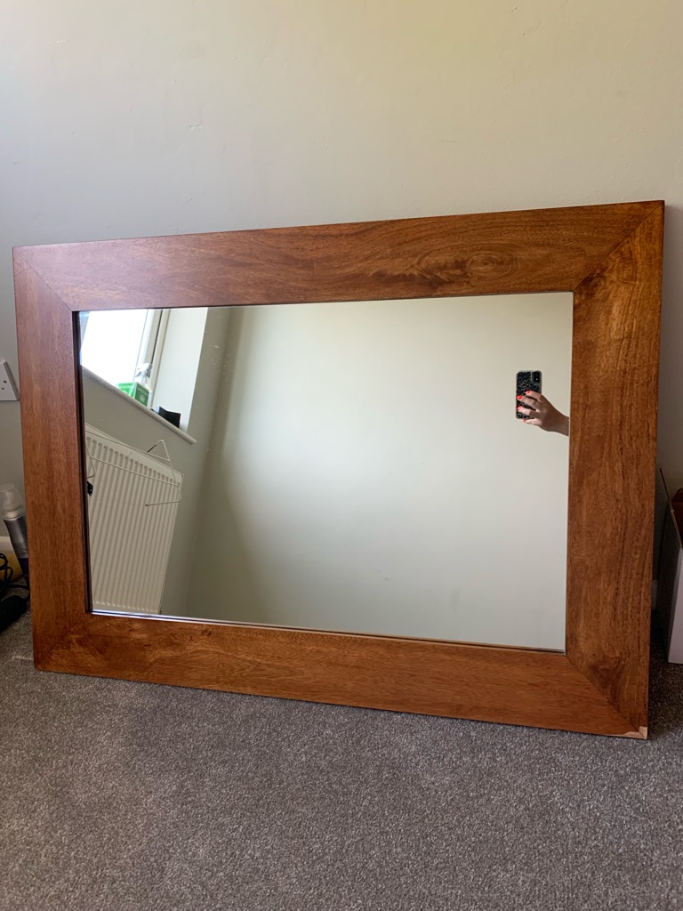 Real Wood Mirror