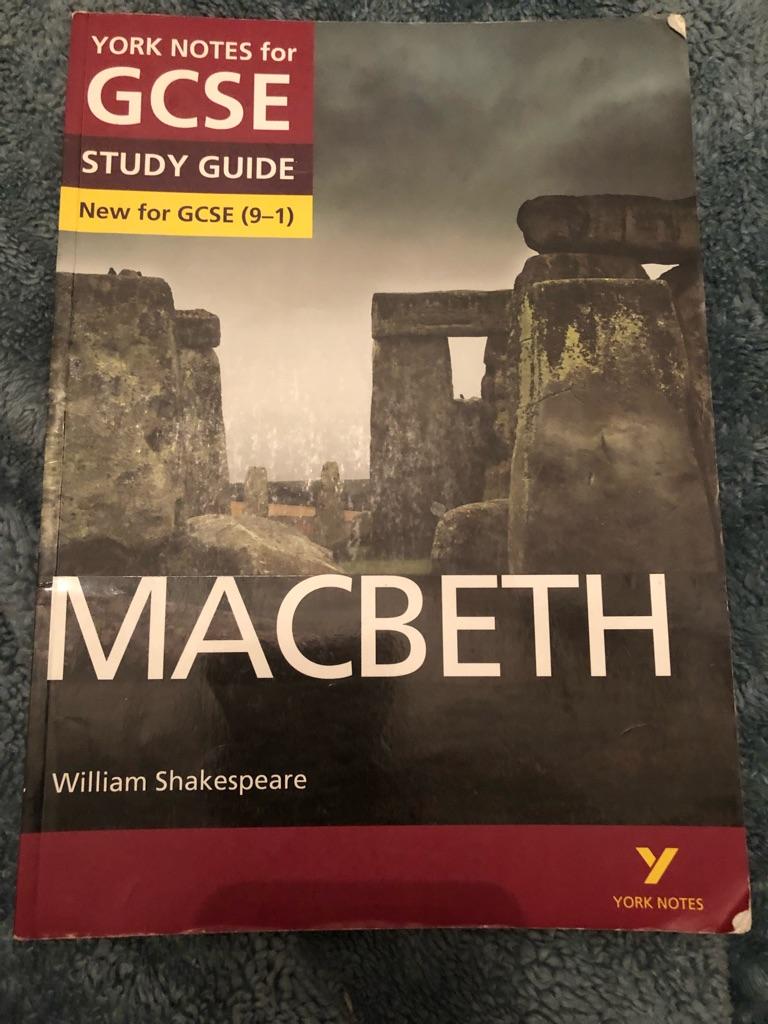 AQA GCSE Macbeth study guide