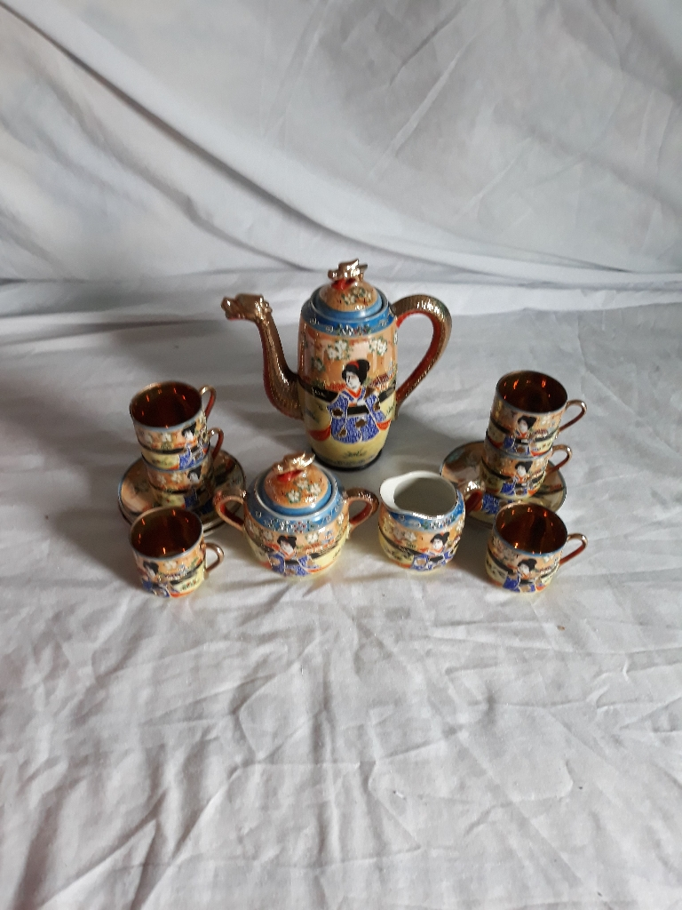Japanese coffee set