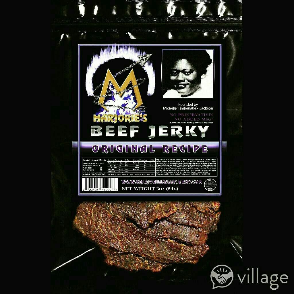 Marjorie's Original Beef Jerky