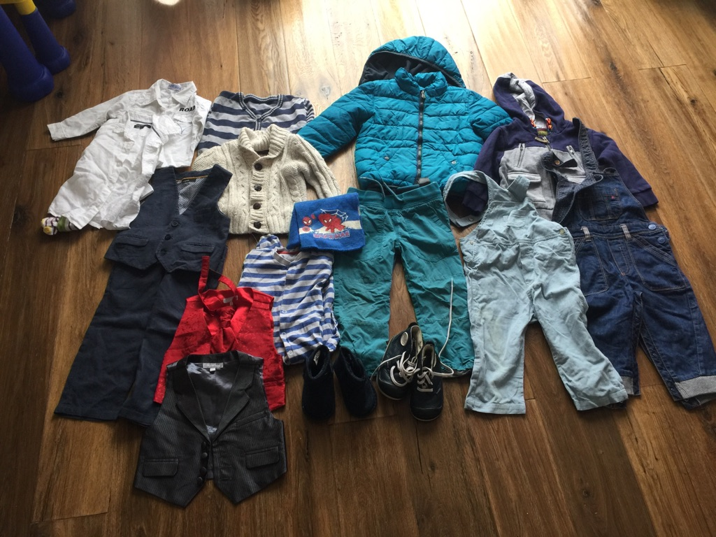 Boys clothes bundle 1-2 years old