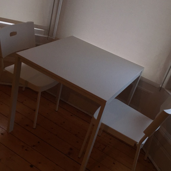 2 seater table and chairs (quick sale)