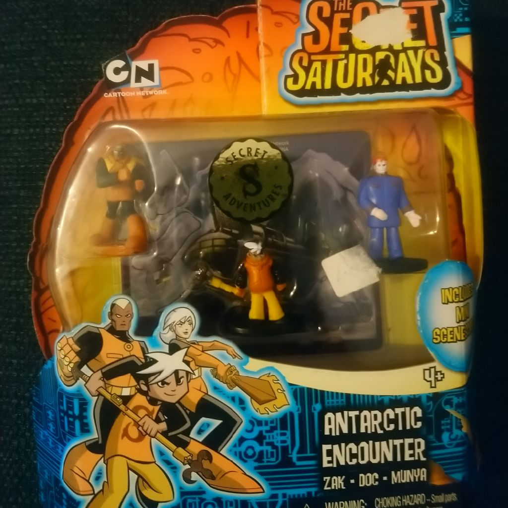 Secret Saturdays antarctic encounter figures