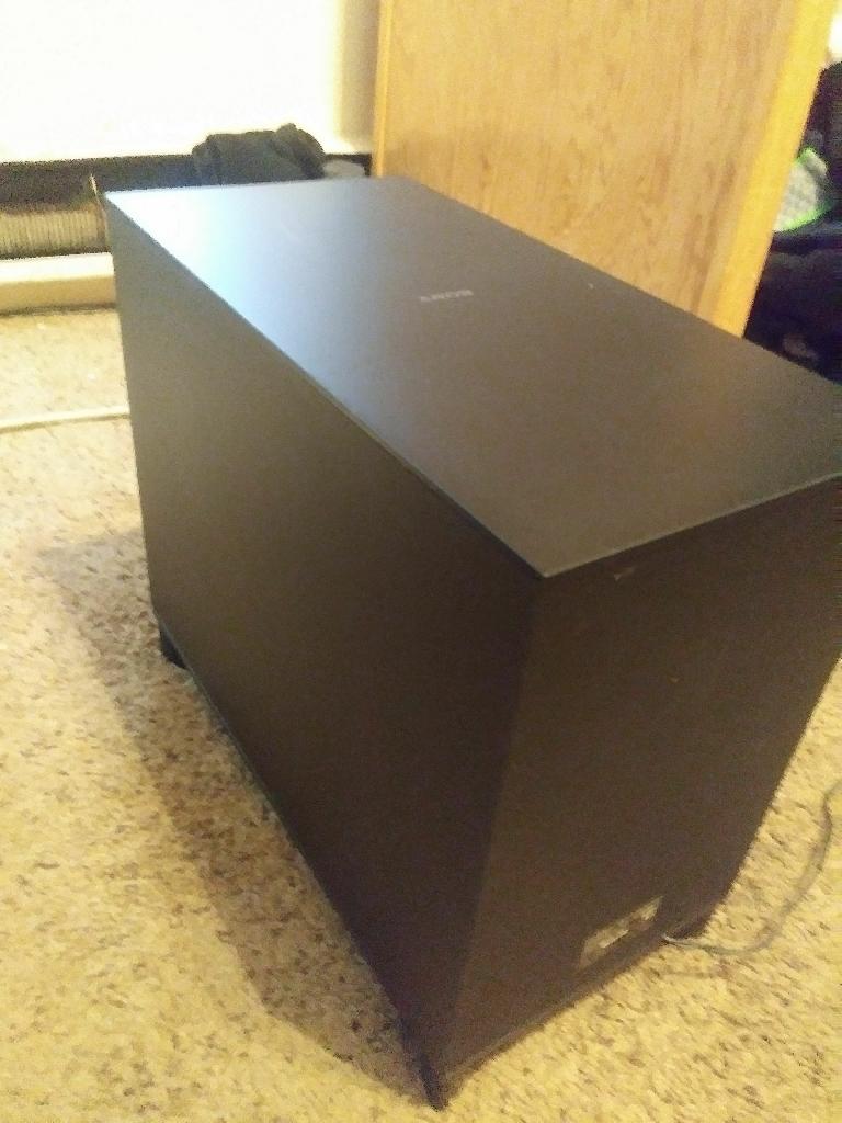 Sony Subwoofer (125 watts)