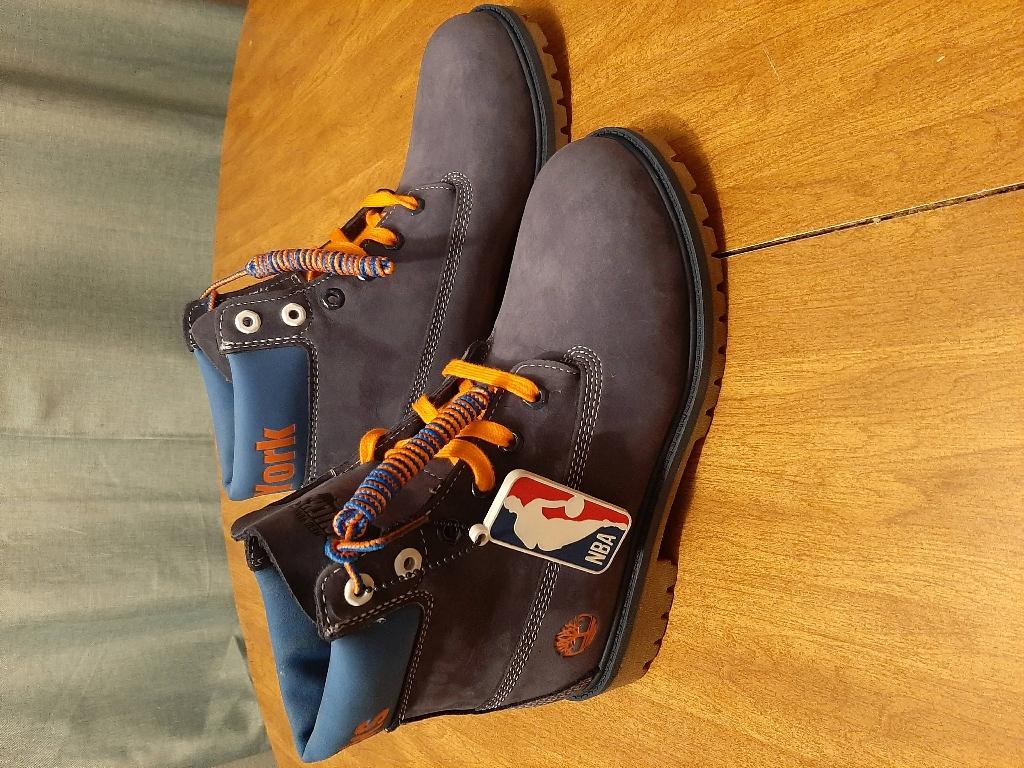 Timberland NBA Knicks boots