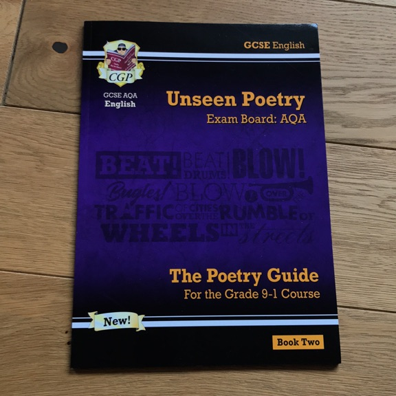 UNSEEN POETRY // POETRY GUIDE BOOK2