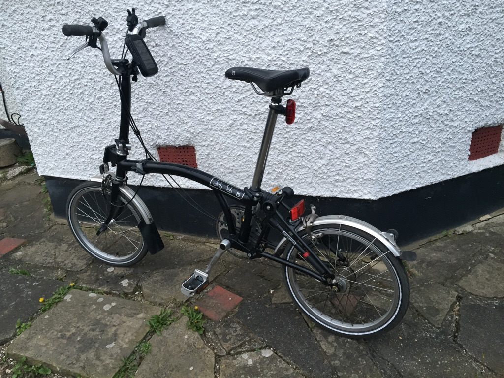Brompton bike M3 type