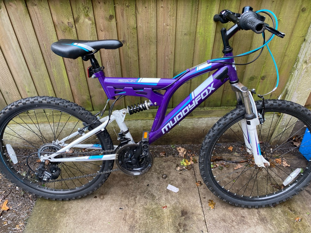 Muddyfox recoil24 bike