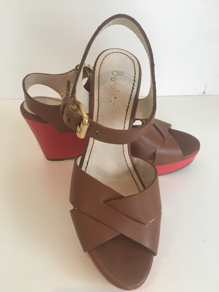 Boden wedge heel