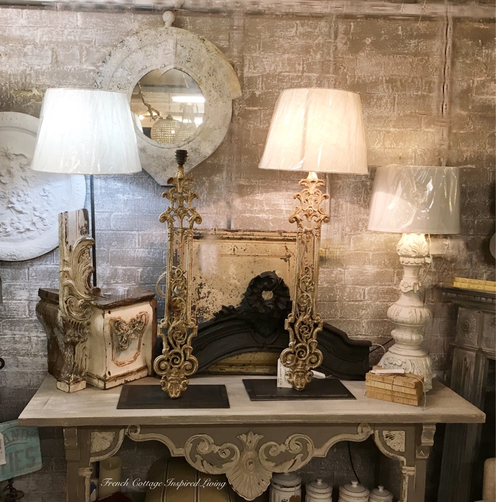 Unique decorative French /Italian lamps