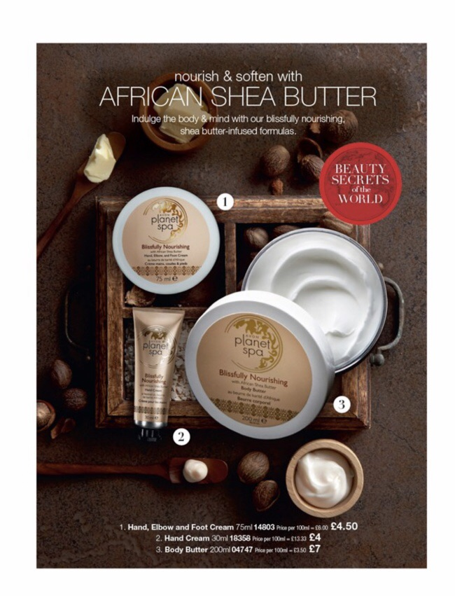 Shea butter collection