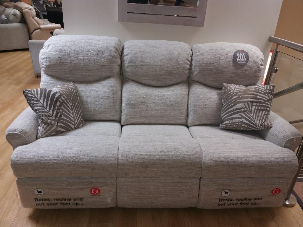 Nettlton recliner sofa  chair footstool