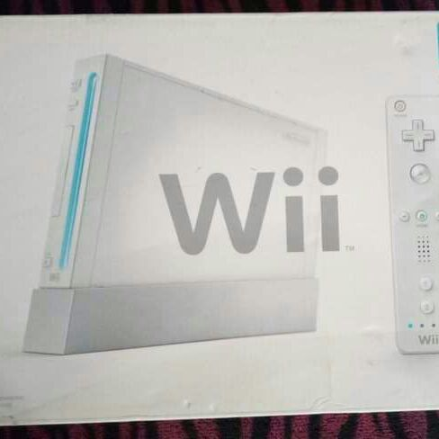 Nintendo Wii in the box